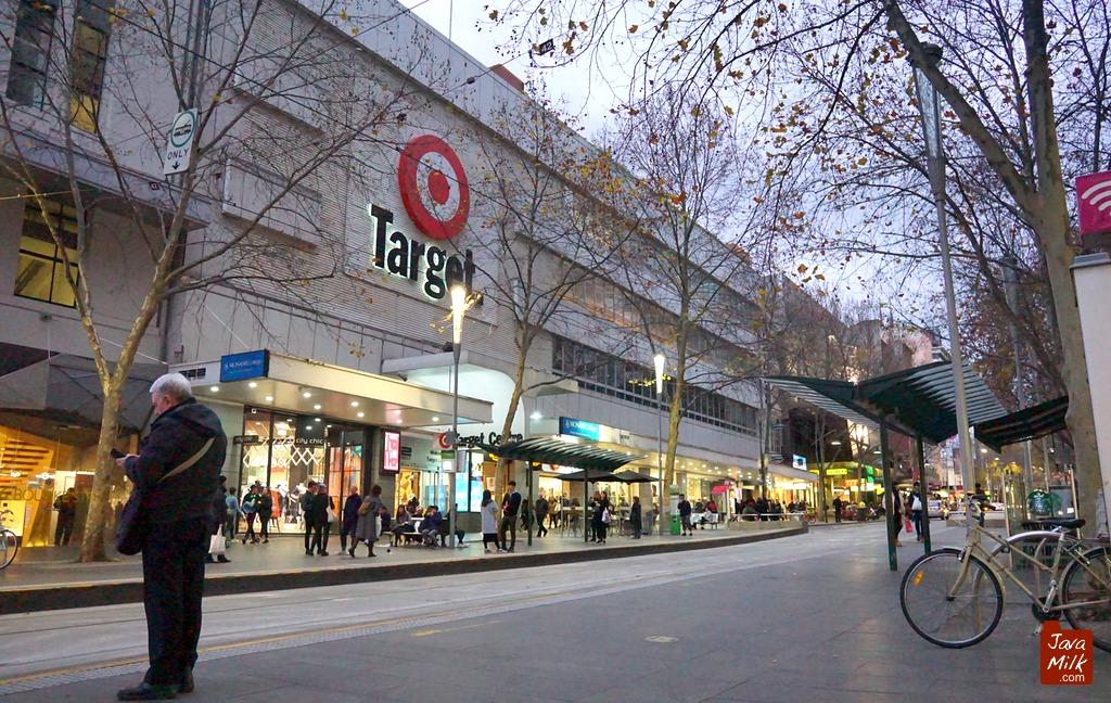 Target Store di Bourke Street