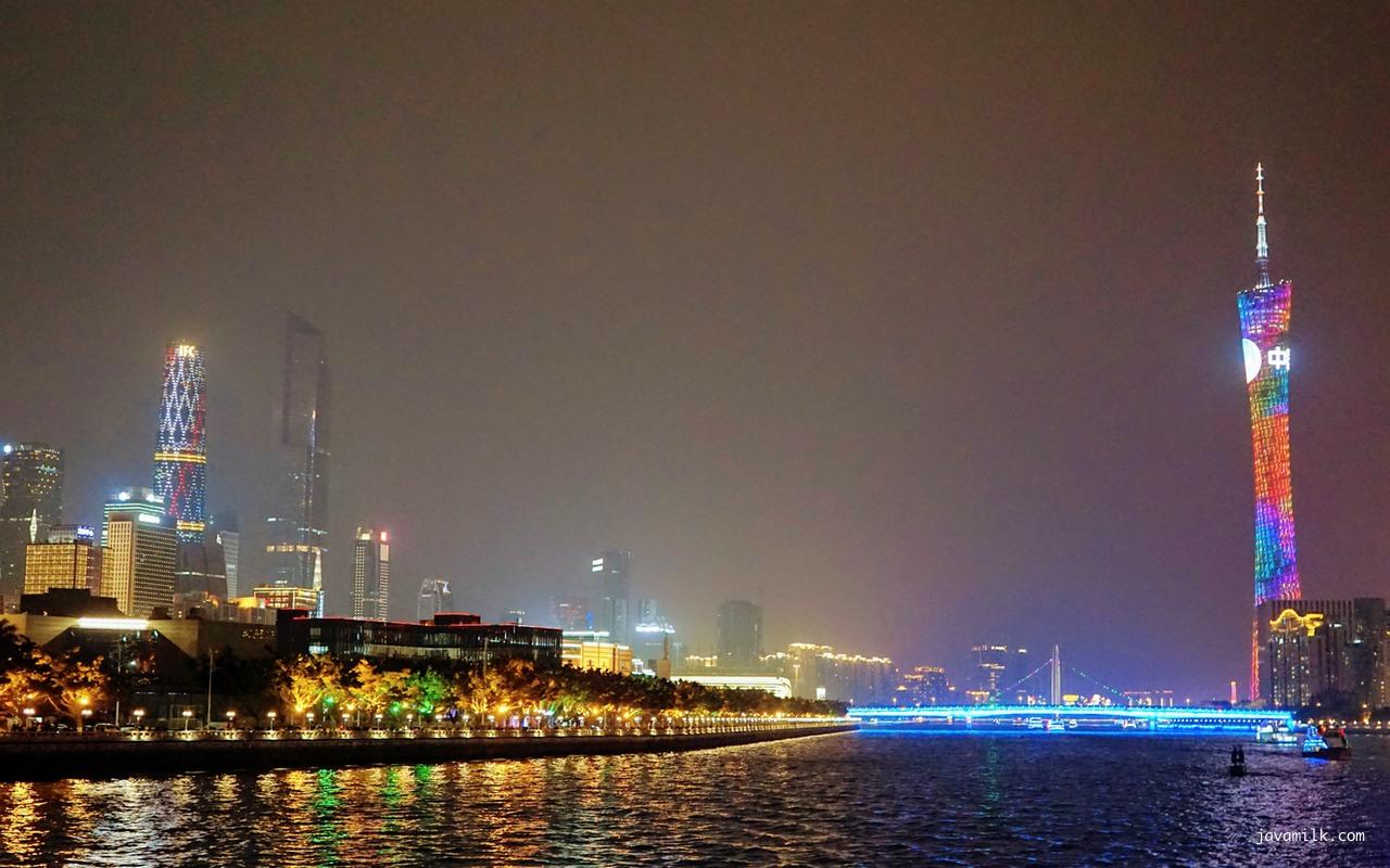 Foto diambil dari Pearl River Cruise