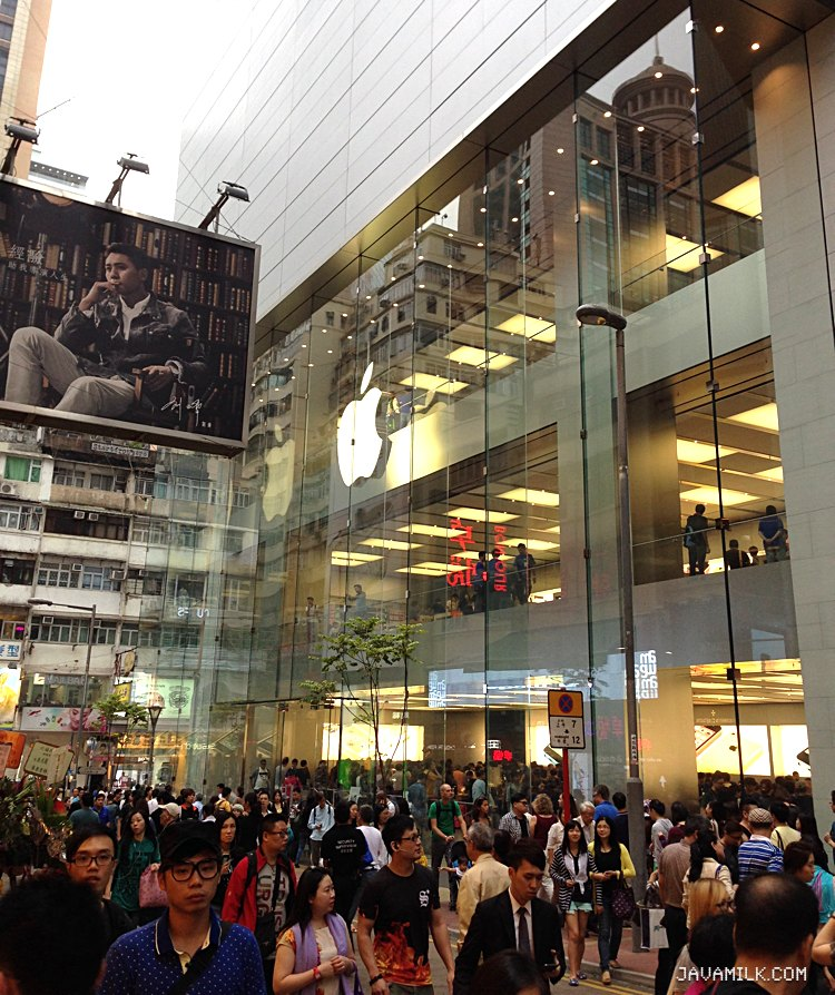 Apple Store Hysan Place