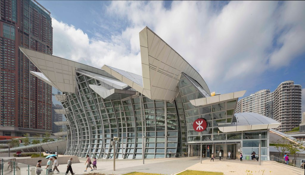 Exterior West Kowloon Station