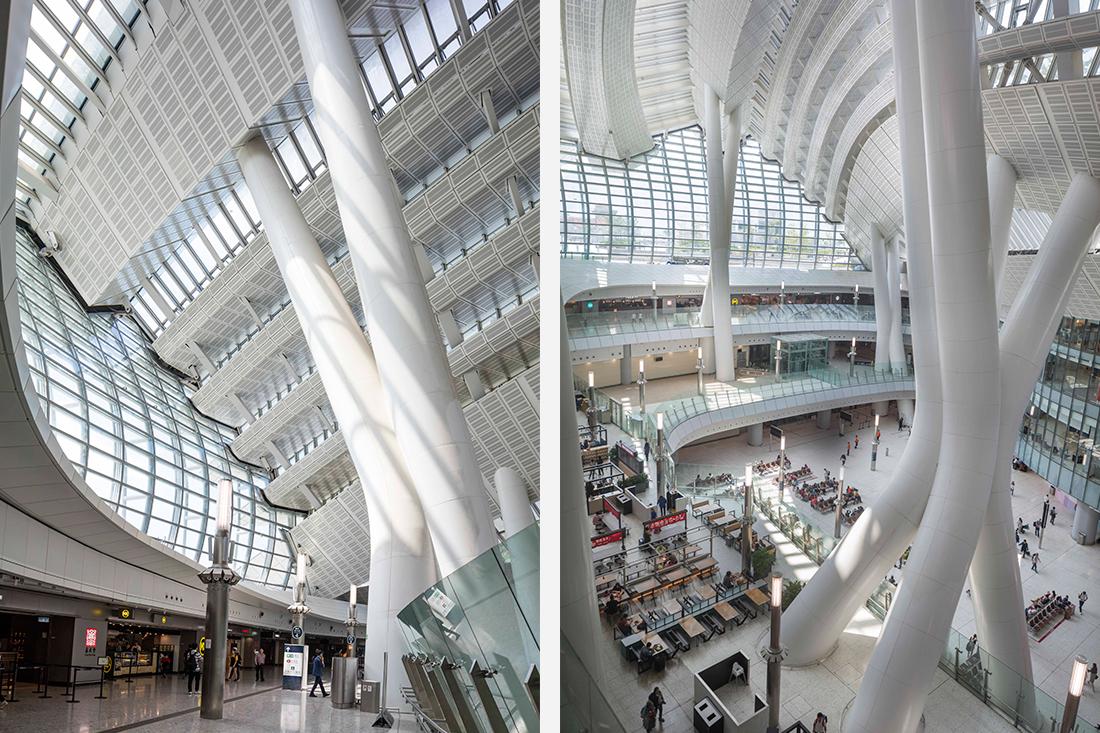 Interior West Kowloon Station