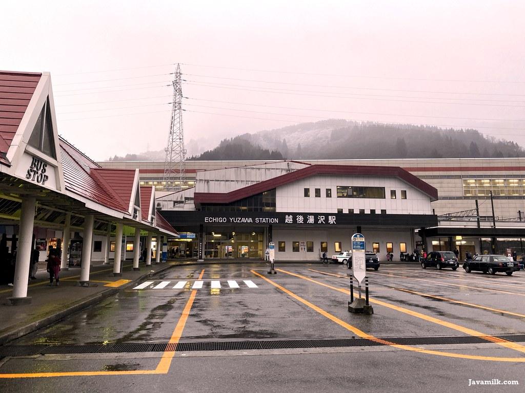 Echigo Yuzawa Bus Stop