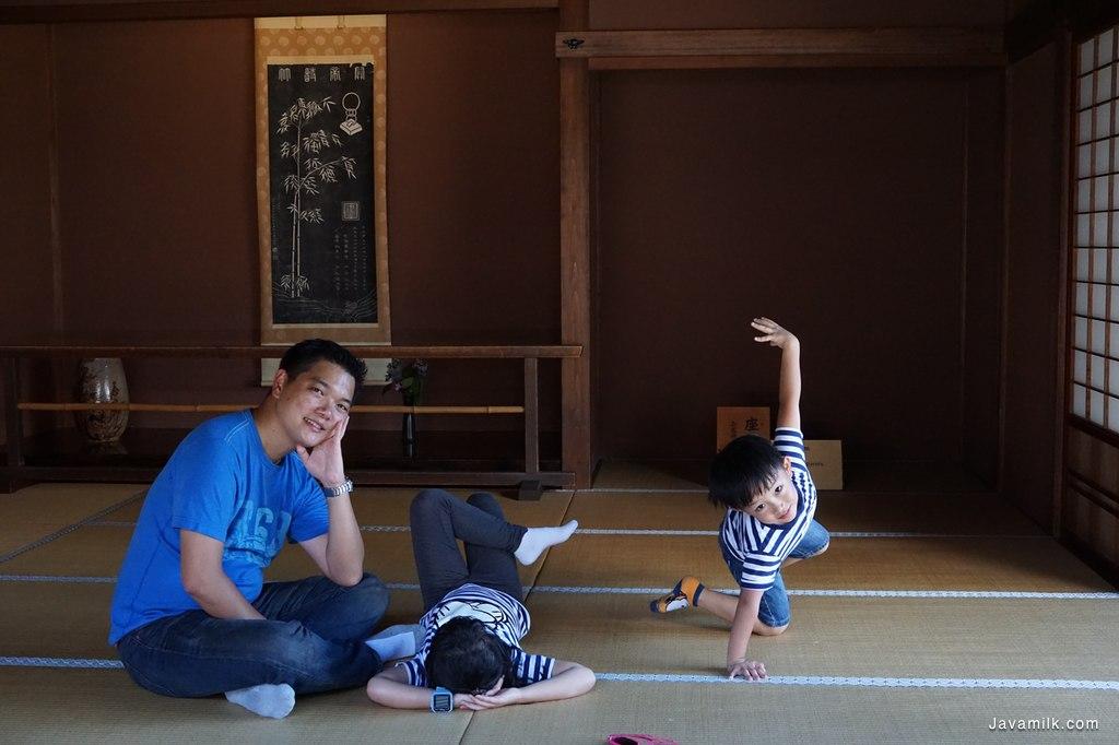Salah satu ruangan dalam Takayama Jinya