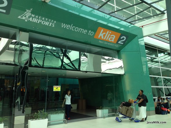 KLIA 2 Main Door
