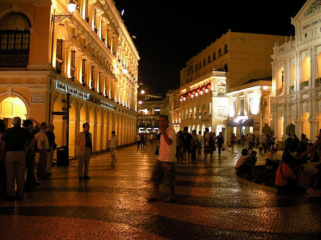 Senado Square Macau Night