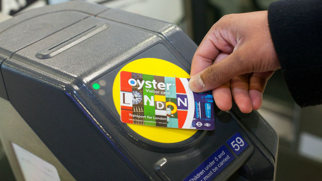 Tap Oyster Card