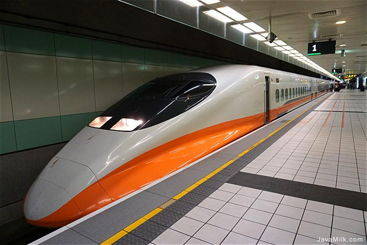 Taiwan Shinkansen style train