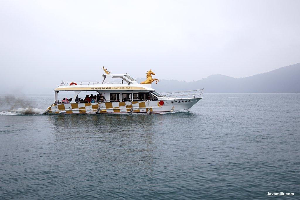 Ferry yang shuttle Shuishe dan I Ta Thao