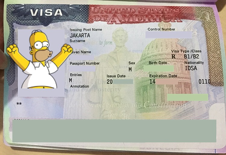 Cara Mengurus Visa Amerika